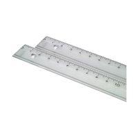 Bild Lineal Kunststoff - 15 cm, glasklar