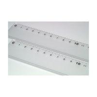 Bild Lineal Kunststoff - 30 cm, glasklar