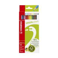 Bild Buntstift GREENcolors, Kartonetui mit 12 Stiften