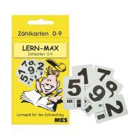 Bild Lernfix Zählkarten 0-9 in Schachtel