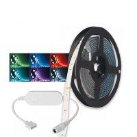Bild WLAN-LED-Leuchtstreifen 3m Dimmbar, Vollfarbig