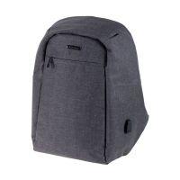 Bild Rucksack SAFEPAK - Sicherheitsrucksack mit Laptopfach, grau