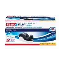 Bild Tischabroller Easy Cut® Orca - für Rollen bis 33m : 19mm, schwarz/weiß