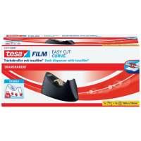 Bild Tischabroller Easy Cut® Curve - für Rollen bis 33m : 19mm, schwarz