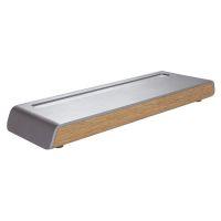 Bild Stifteschale smartstyle - 24 x 2,25 x 7,5 cm, metallic-wood
