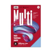 Bild Multifunktionspapier 7X PLUS - A4, 120 g/qm, blau, 35 Blatt