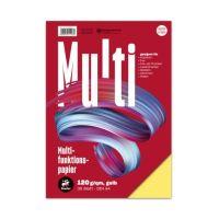 Bild Multifunktionspapier 7X PLUS - A4, 120 g/qm, gelb, 35 Blatt
