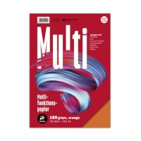 Bild Multifunktionspapier 7X PLUS - A4, 120 g/qm, orange, 35 Blatt