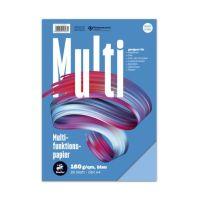Bild Multifunktionspapier 7X PLUS - A4, 160 g/qm, blau, 25 Blatt