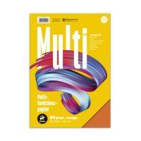 Bild Multifunktionspapier 7X PLUS - A4, 80 g/qm, orange, 50 Blatt