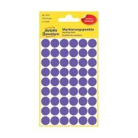 Bild 3115 Markierungspunkte - Ø 12 mm, 5 Blatt/270 Etiketten, violett