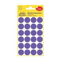 Bild 3118 Markierungspunkte - Ø 18 mm, 4 Blatt/96 Etiketten, violett