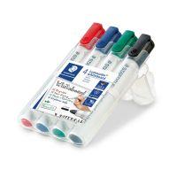 Bild Board-Marker Lumocolor® 351 whiteboard marker, STAEDTLER Box mit 4 Farben