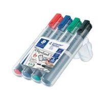 Bild Flipchart-Marker Lumocolor® 356, nachfüllbar, 2 mm, STAEDTLER Box mit 4 Farben