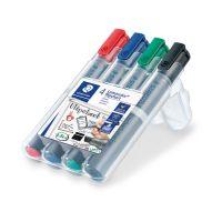 Bild Flipchart-Marker Lumocolor® 356 B, nachfüllbar, STAEDTLER Box mit 4 Farben