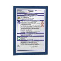 Bild Magnetrahmen DURAFRAME® - A4, 322 x 236 mm, dunkelblau, 10er Pack