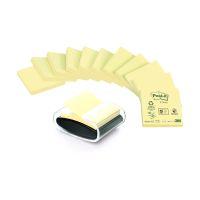 Bild Haftnotizspender für  Z-Notes, gefüllt, schwarz/transparent + 12 Block