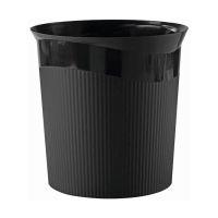 Bild Papierkorb Re-LOOP - 13 Liter, rund, schwarz