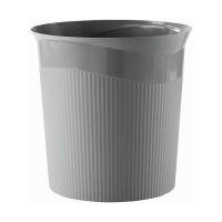 Bild Papierkorb Re-LOOP - 13 Liter, rund, dunkelgrau