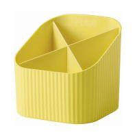 Bild Schreibköcher Re-X-LOOP - 4 Fächer, gelb