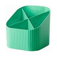 Bild Schreibköcher Re-X-LOOP - 4 Fächer, grün