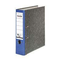 Bild Recycling-Wolkenmarmor-Ordner A4, blauer Rücken 80mm