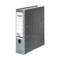 Bild Recycling-Wolkenmarmor-Ordner A4, grauer Rücken 80mm