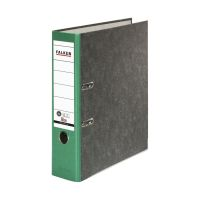 Bild Recycling-Wolkenmarmor-Ordner A4, grüner Rücken 80mm