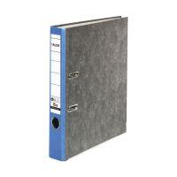 Bild Recycling-Wolkenmarmor-Ordner A4, blauer Rücken 50mm