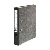 Bild Recycling-Wolkenmarmor-Ordner A4, schwarzer Rücken 50mm