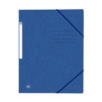 Bild Eckspannermappe TOPFILE+ - A4, Rückenschild, Karton, blau