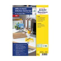 Bild 49300 Home Office Etiketten Starter-Set - 189 Etiketten, sortiert