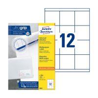 Bild 3661 Universal-Etiketten ultragrip - 70 x 67,7 mm, weiß, 1.200 Etiketten, permanent