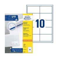 Bild 3679 Universal-Etiketten ultragrip - 97 x 55 mm, weiß, 1.000 Etiketten, permanent