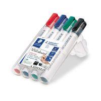 Bild Lumocolor® 351 B whiteboard marker - Keilspitze, 4 Farben sortiert