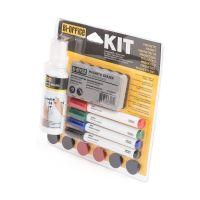 Bild Whiteboard-Starter-Kit - Stifte, Magnete, Löscher, Reinigungsspray