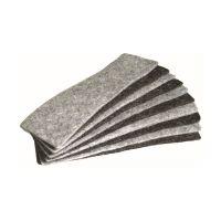 Bild Tafelwischer - Nachfüllfilz 10 Stück, grau