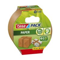 Bild Verpackungsklebeband tesapack®, Papier, 25 m x 38 mm, beige