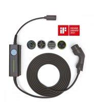 Bild AC Portable EV Lader 6m Typ 2 Kabel 3.6kW-16kW