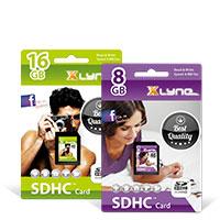 Bild SDHC Speicherkarte, CL 4