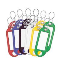 Bild Schlüsselanhänger, beschriftbar, 10 Stück