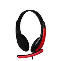 Bild Gaming Headset TOXX, kabelgebunden, schwarz / rot