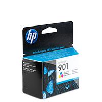 Bild HP Druckerpatrone '901' farbig 9 ml
