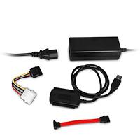 Bild USB 2.0 Konverter IDE/SATA inkl. Netzteil