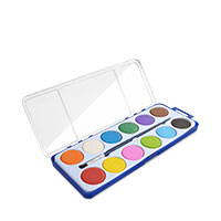 Bild Wassermalkasten, 12 Farben inkl. Pinsel