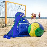 Bild Pelé Beach-Fußball-Set inkl. Rucksack