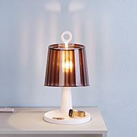 Bild Designer Tischlampe mit Ablagefläche