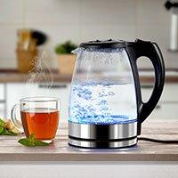 Bild Glas-Wasserkocher mit LED-Licht