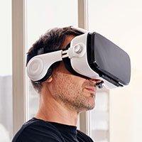 Bild 3D Virtual Reality Brille inkl. Kopfhörern