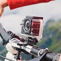 Bild 4K Ultra HD Action Cam + Zubehör
